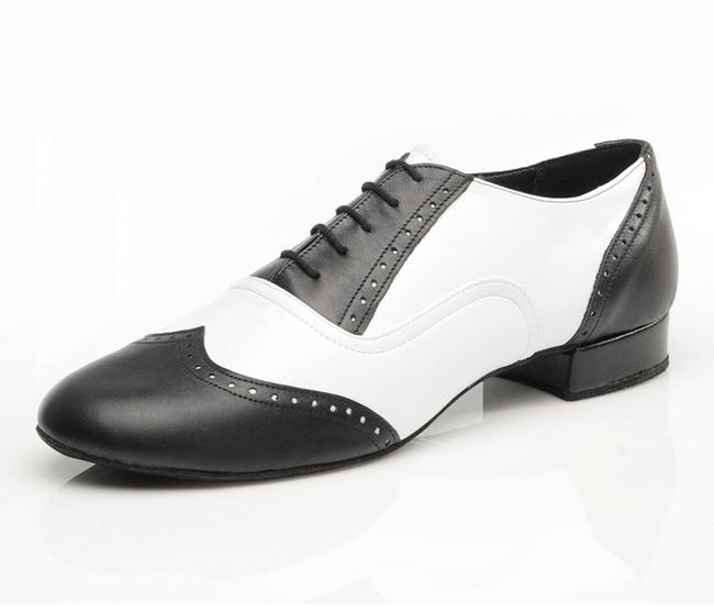 Pánske tanečné topánky ARTIS - MF-1 is čierno-biele empty 23211fdf7d4