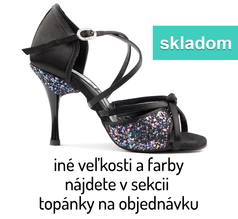 Tanečné topánky PORTDANCE - PD801 is Pro Premium čierne empty a753d0b8f7f