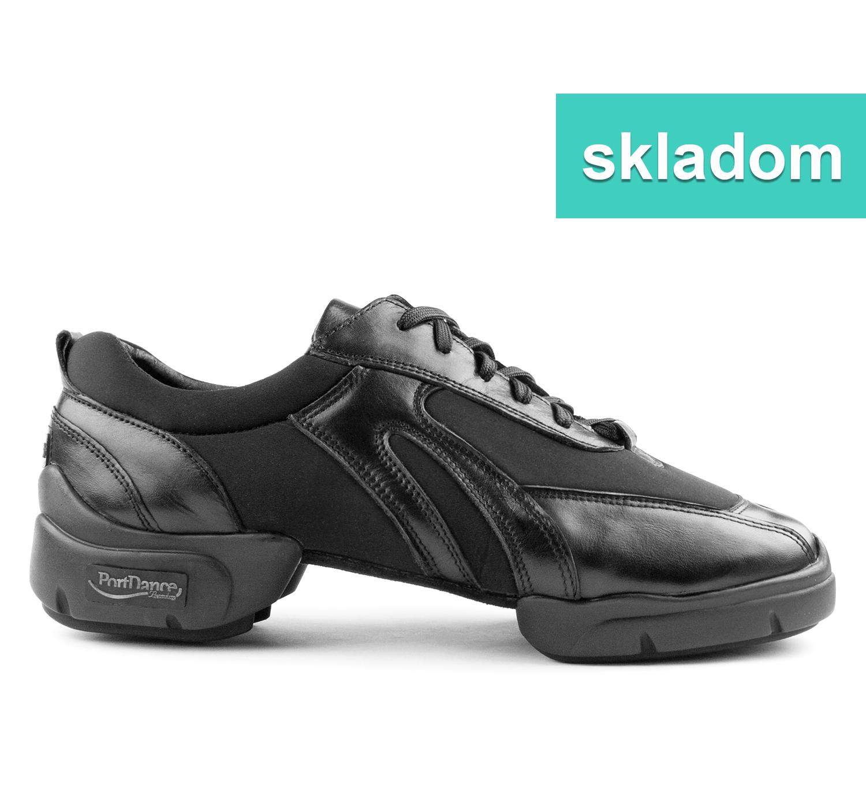 902390e78c59b Tanečné topánky PORTDANCE - PD925 is čierne empty