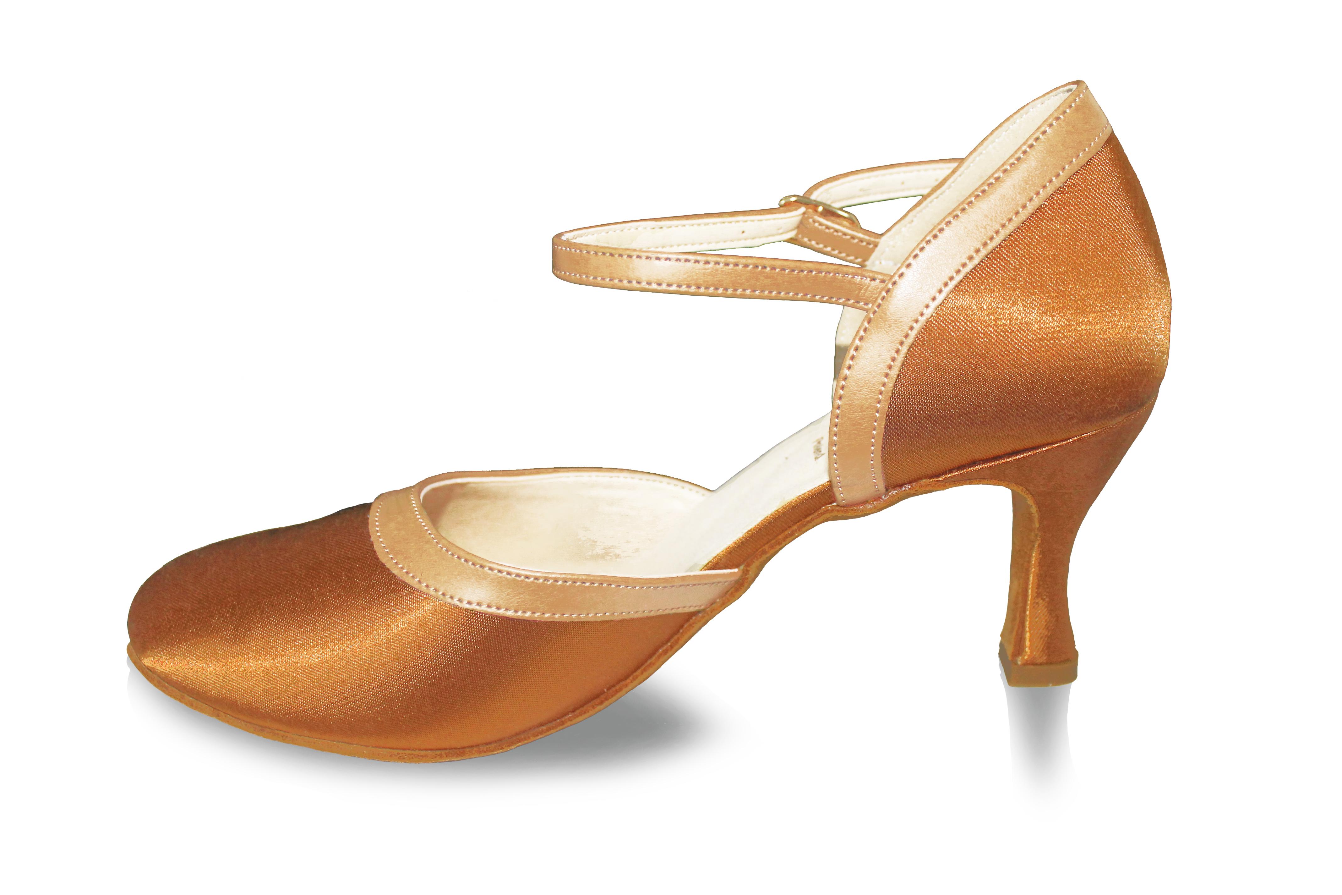 ae05abafc9226 Tanečné topánky ARTIS - DA-3 is 7 cm flare telové empty