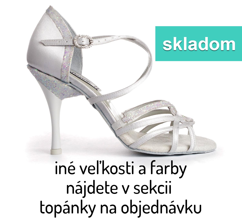 e8400d7dfbbb Tanečné topánky PORTDANCE - PD800 is Pro Premium biele