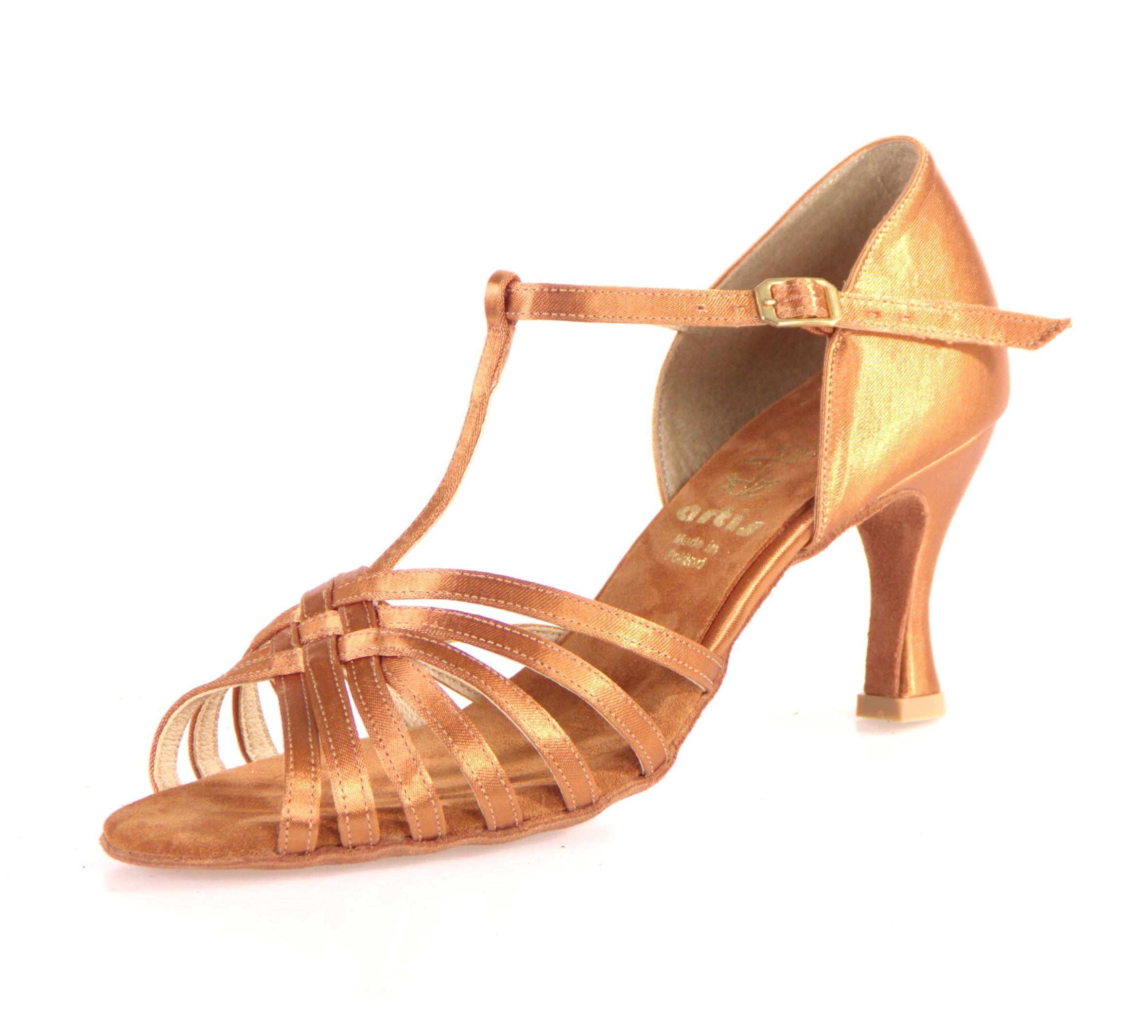 Dámske tanečné topánky ARTIS - DL-23S telova 7 cm Flare empty cd3a9a4f28d