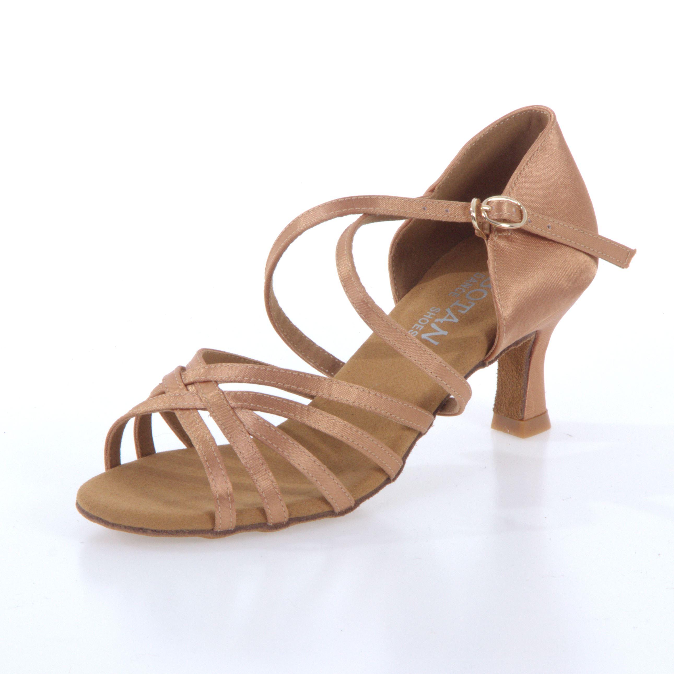 c7c8ecce3d1e Dámske tanečné topánky Botan BL-2S telové empty