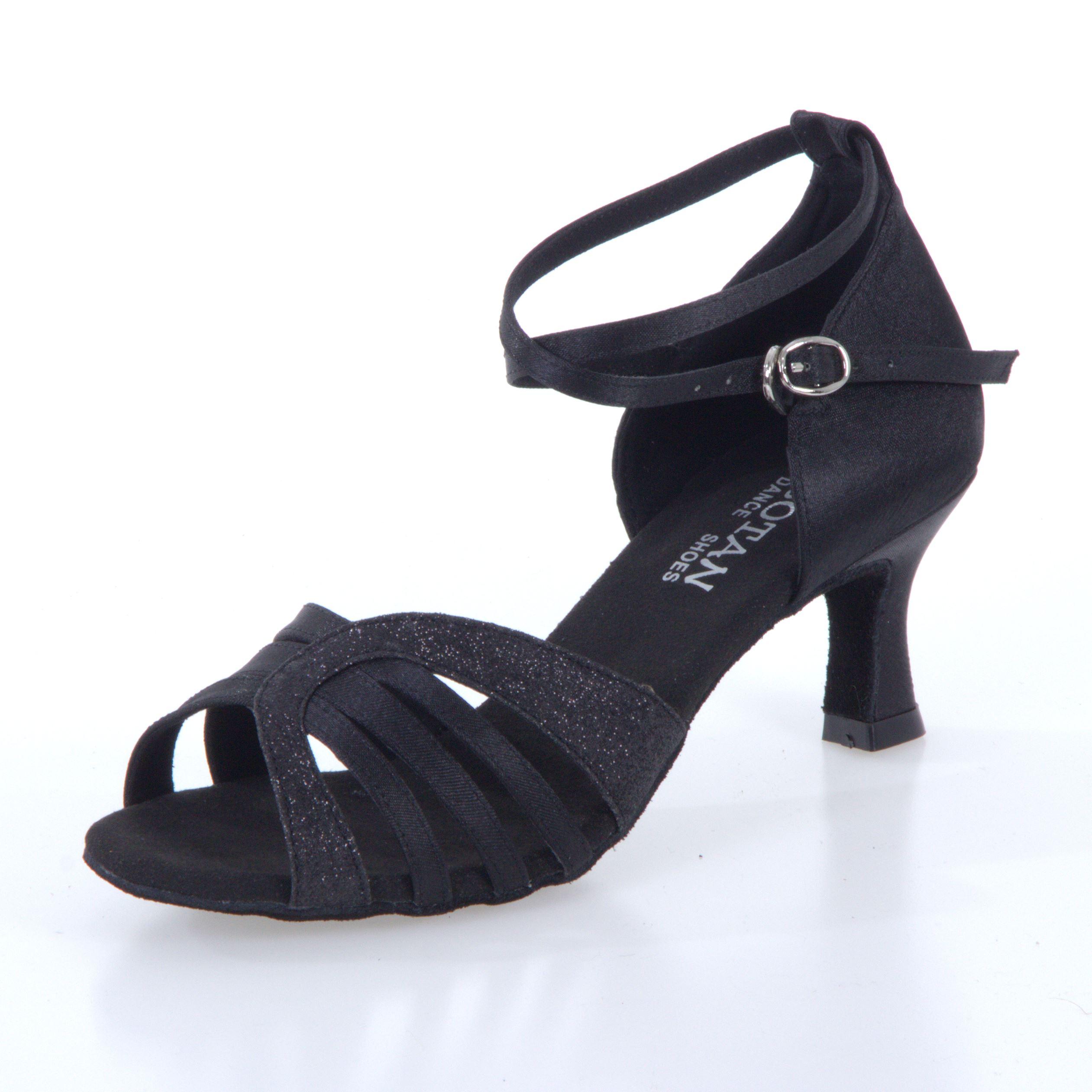 Dámske tanečné topánky Botan BL-14S čierne empty c7862b56988