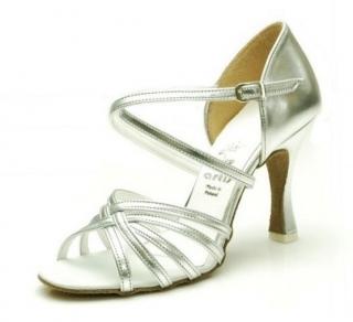 Tanečné topánky ARTIS - DL-2 is strieborné 7 cm flare empty 789224c384c