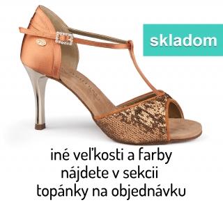 e2b2c61468174 Tanečné topánky PORTDANCE - PD600 is Fashion telové empty