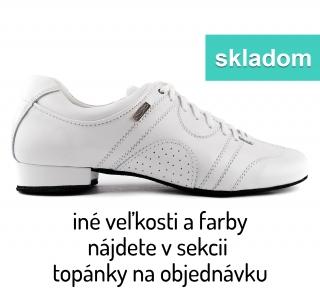 641bdc876e6a1 Tanečné topánky PORTDANCE - PD Casual is biele empty